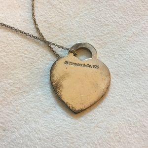 Tiffany co jewelry tiffany and co silver heart pendant necklace jewelry tiffany and co silver heart pendant necklace aloadofball Images